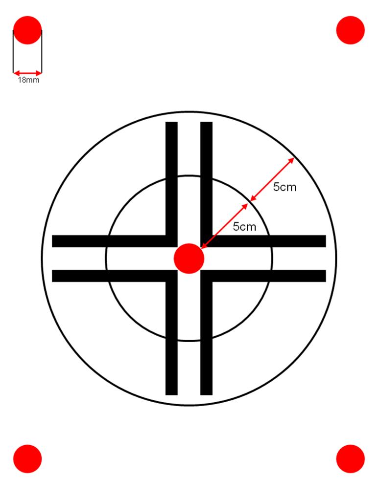 Beispiel für eine Zielscheibe